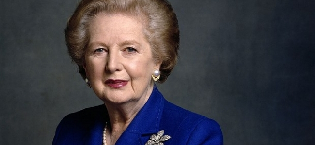 CHARLES MOORE: MARGARET THATCHER...